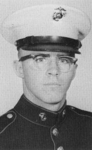 A 17-year-old Al Louthian is pictured in dress uniform in 1966. Now a Cecil County resident, Louthian served in Vietnam as a Marine, and later served in the Army.  | Courtesy photo