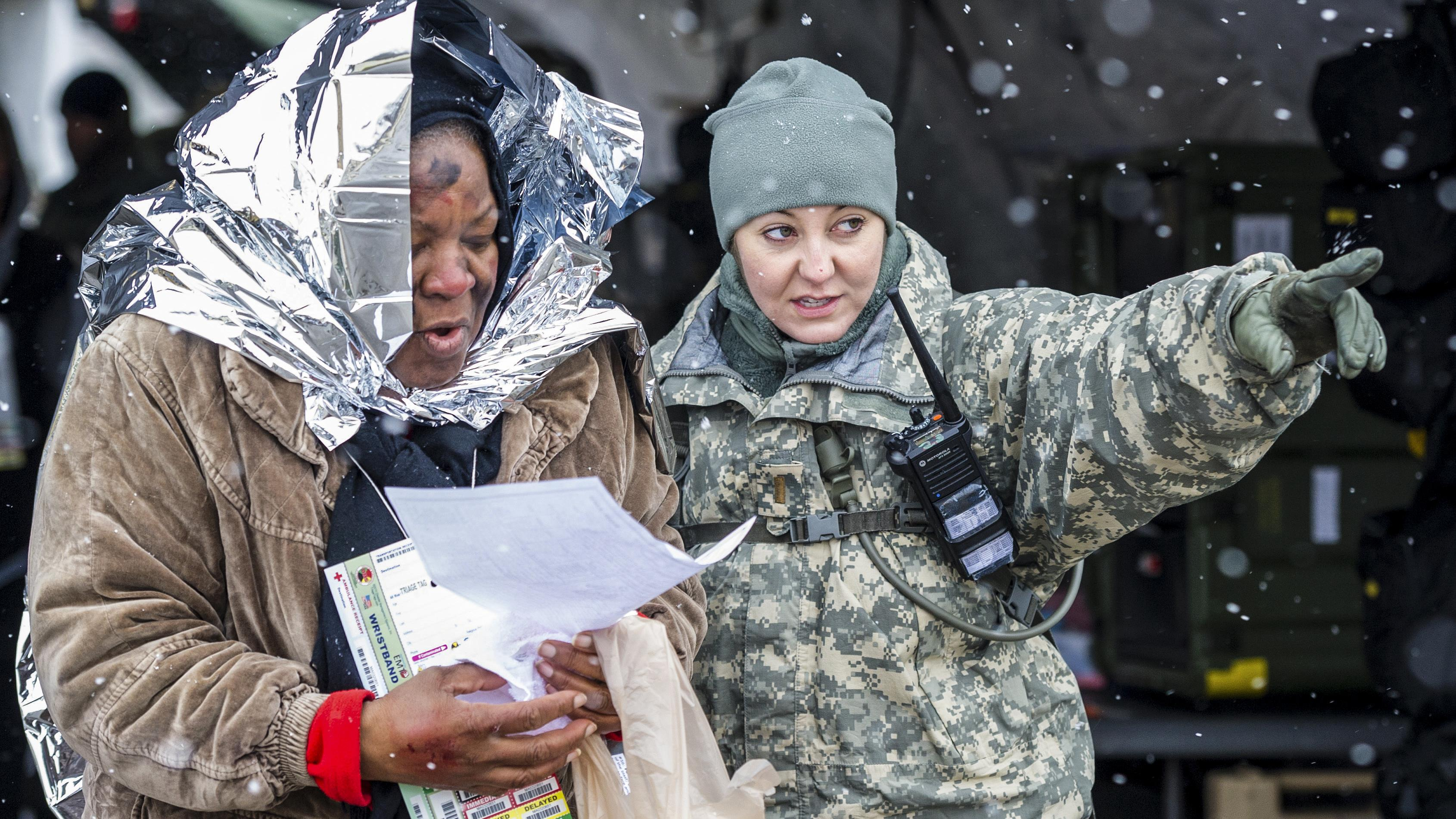 MDNG hosts winter training exercise - APG News