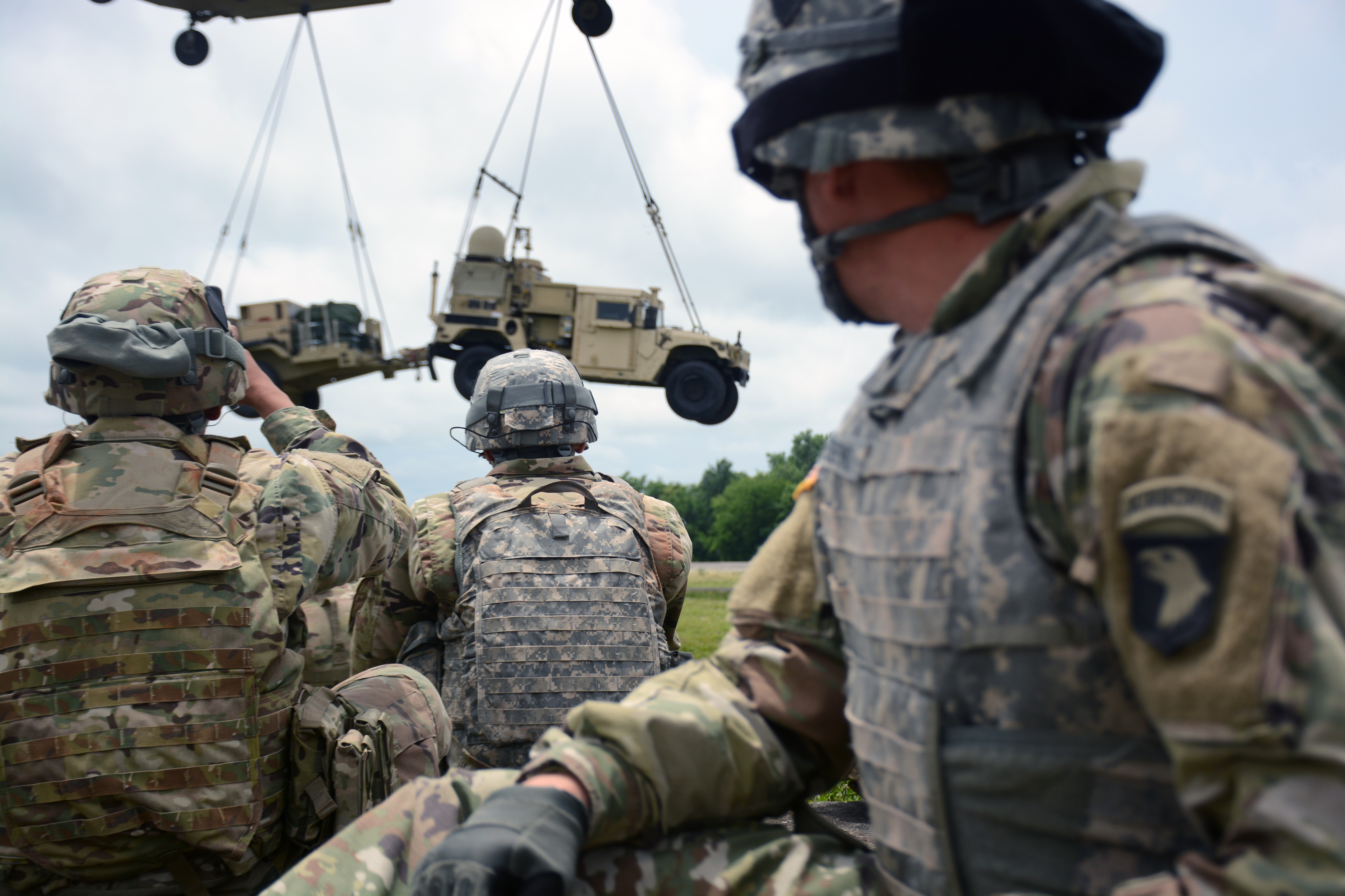 101st Airborne puts new expeditionary comms gear through the