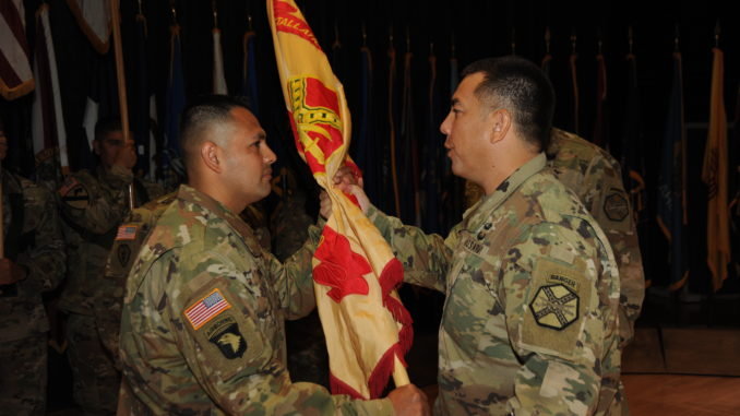 Garrison welcomes new CSM: Uribe assumes responsibilities as command