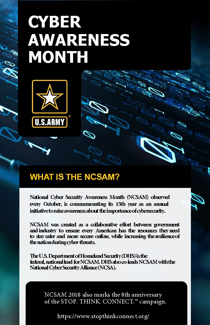 2018 National Cyber Security Awareness Month - APG News